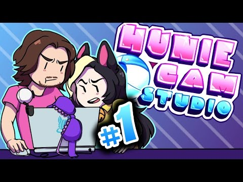 ♡HUNIE CAM STUDIO♡HONEST MONEY►With Egoraptor!► PART 1 - Kitty Kat Gaming