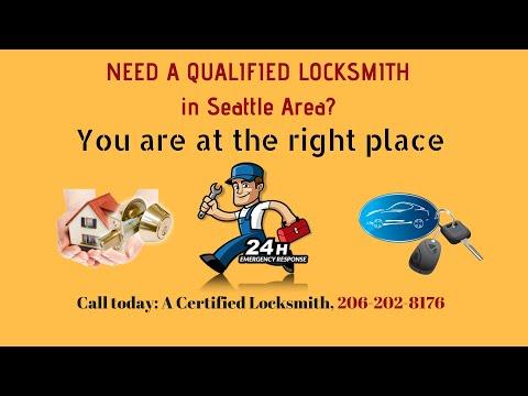 24/7 Local Locksmith in  Bellevue  Washington- Need a  24/7 Locksmith to get into car? Call 206-202