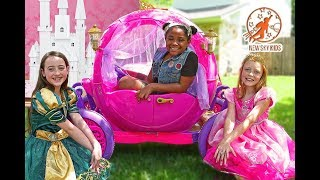 New Sky Kids Super Episode - High Top Princess Teamwork Lessons and the Pink Princess Carriage