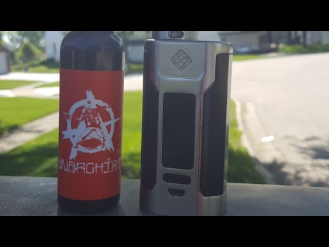 Red by Anarchist e-liquid review. Good summer vape?