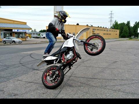 CPI SM 50 Wheelie training