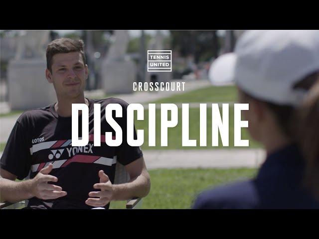 CrossCourt | Episode 7 | Hubert Hurkacz & Iga Swiatek: Discipline