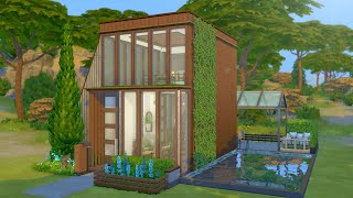 Building an A-Frame Eco Home in The Sims 4 (Streamed 4/24/19)