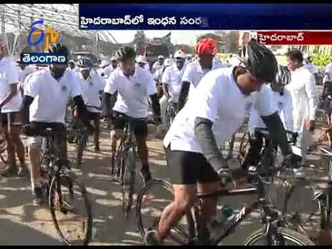 Oil Company's Organized Awareness Rally On 'Energy Conservation' in Hyderabad