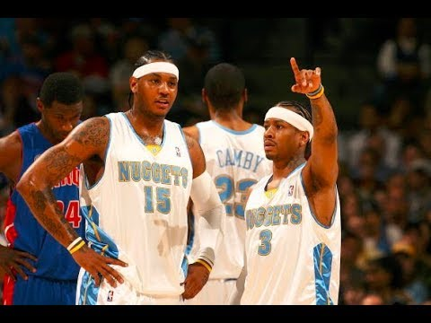 BEST Plays of Allen Iverson and Carmelo Anthony as Denver Nuggets