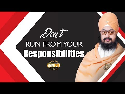 Don't run from your Responsibilities | Full Diwan | Bhai Ranjit Singh Ji Khalsa Dhadrianwale