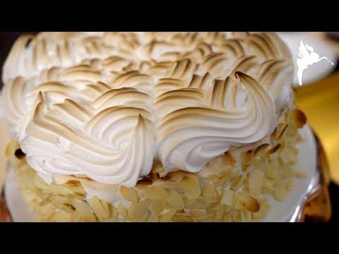 Klassische Stachelbeer Baiser Torte - Stachelbeer - baiser Kuchen - Kuchenfee