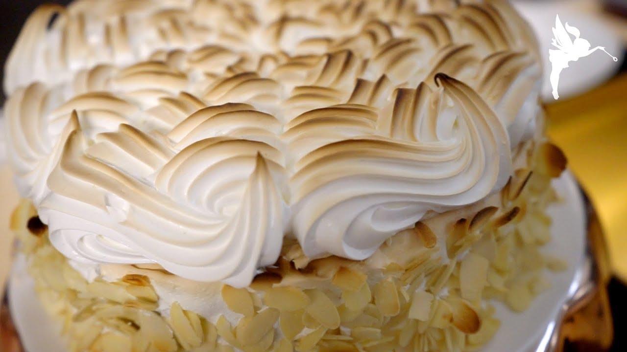 Klassische Stachelbeer Baiser Torte Stachelbeer Baiser Kuchen