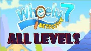 Wheely 7: Detective Walkthrough All Levels 1-15 [FULL GAME]