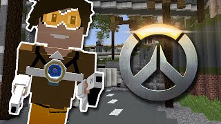 Minecraft: PLAY AS TRACER FROM OVERWATCH