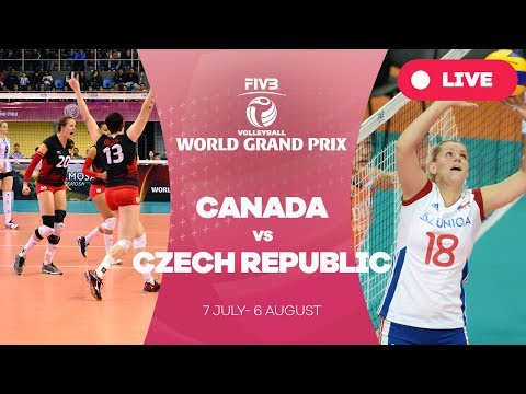 Canada v Czech Republic - Group 2: 2017 FIVB Volleyball World Grand Prix