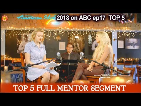 Maddie Poppe and & Carrie Underwood Full MENTOR SEGMENT American Idol 2018 Top 5
