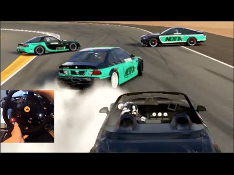 Forza 6 Drifting Limbo Game w/Crew Funny Moments