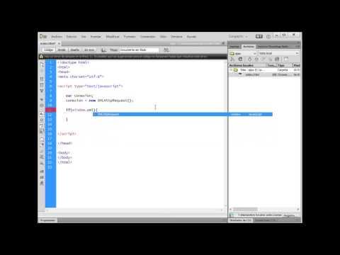 2.Curso de Ajax - Creando el Objeto XMLHttpRequest