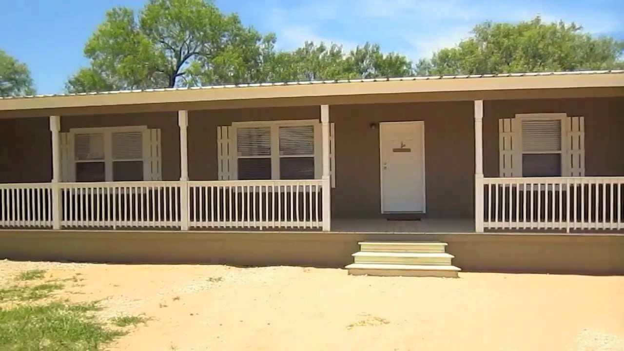 Wyoming built in porch on custom mobile modular home in - How are modular homes built ...