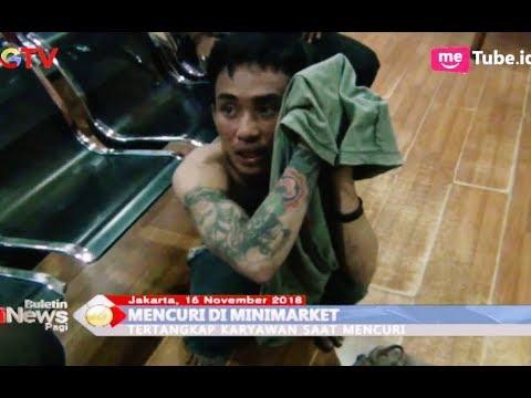Seorang Pria Babak Belur Dijotos Massa Usai Mencuri di Minimarket - BIP 16/11