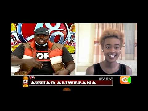 Azziad Nasenya on 10over10 tonight with Willis Raburu full interview   UTAWEZANA Femi one ft Mejja