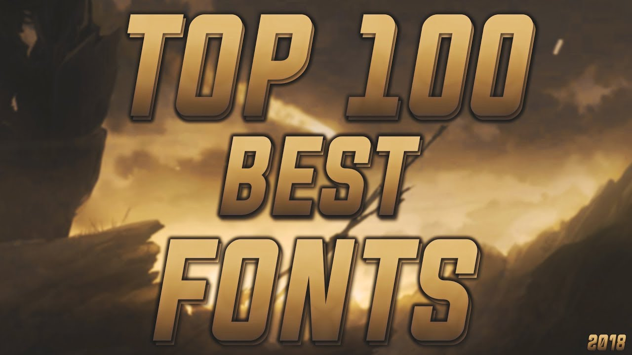 Download GREATEST FREE +100 FONT PACK FOR DESIGNERS 2018 (for ...
