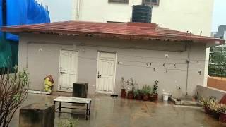 Heavy Rain shot on the Terrace!!!