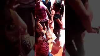 Ravi yadav mumbai holi selibration