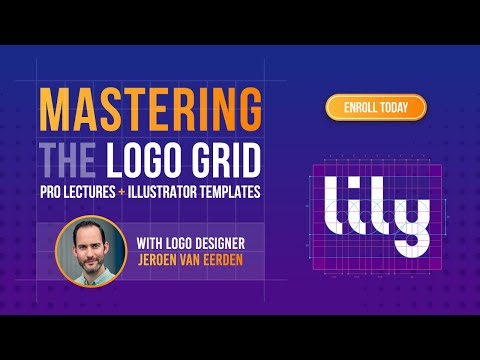 Mastering the Logo Grid - Pro Lectures + Illustrator Templates