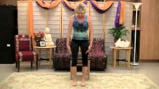 An Excerpt from Lakshmi Voelker Chair Yoga - an online class with Lakshmi Voelker