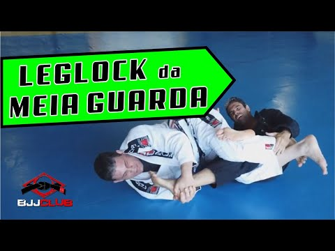 "🆕 Chave de Joelho ""Leg Lock"" partindo da Meia Guarda  🏼👉 Jiu Jitsu - BJJCLUB"