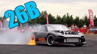 9 Quad-Rotor 26B Swapped Cars + BOAT Swap