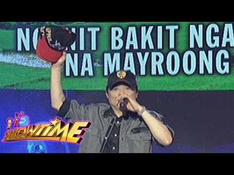 It's Showtime Singing Mo 'To: April Boy Regino sings 'Hindi Ko Kayang Tanggapin'