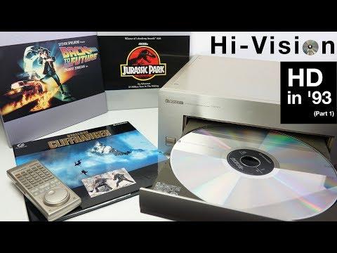 Hi-Vision Laserdisc - HD in '93 (Part 1)