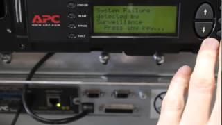 Symmetra VT30 system failure detected by surveillance