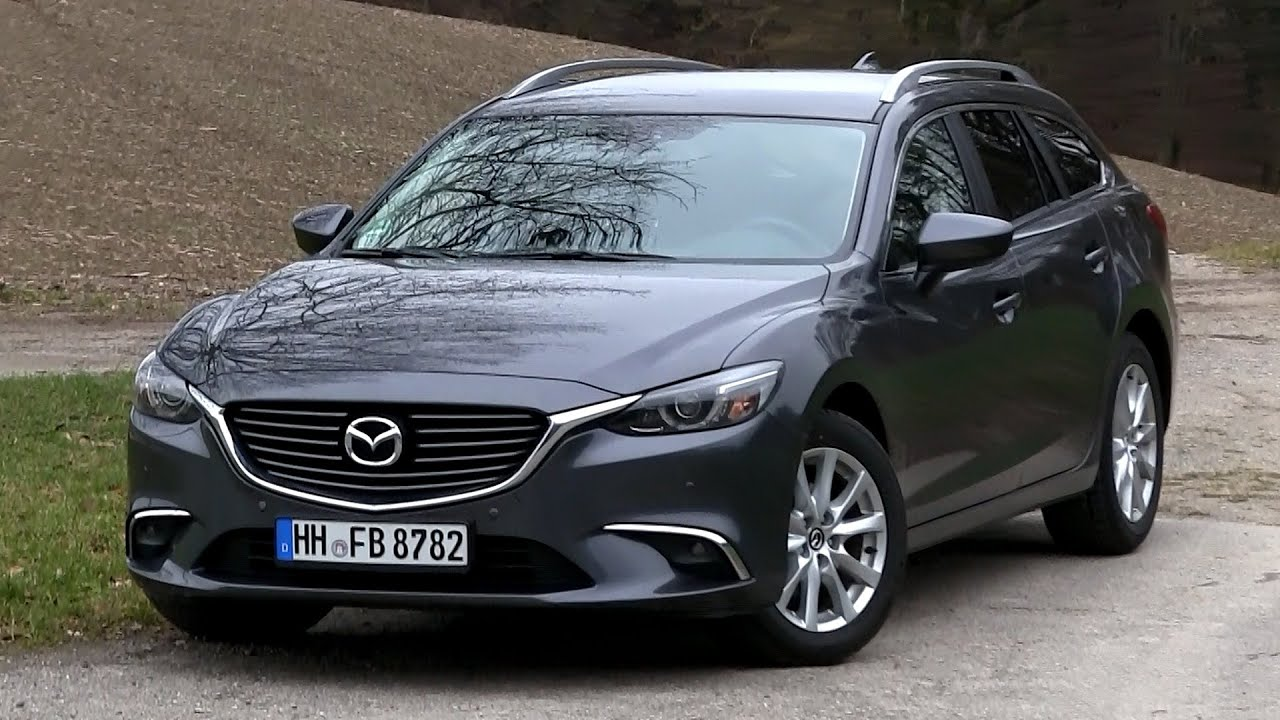 2016 mazda 6 combi 2 0 skyactiv g 145 hp test drive youtube. Black Bedroom Furniture Sets. Home Design Ideas