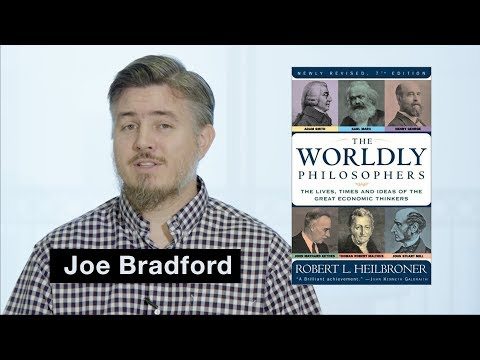 The Worldly Philosophers - Joe Bradford #InsideMyLIbrary Book Review