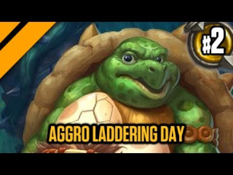 Hearthstone Aggro Laddering Day - P2 - Totem Shaman