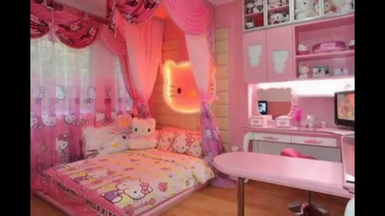 desain kamar tidur sempit hello kitty | sobat interior rumah
