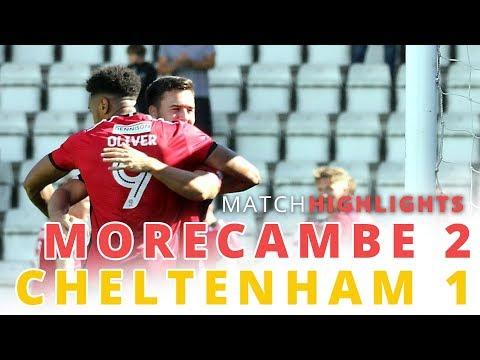 HIGHLIGHTS | Morecambe v Cheltenham Town