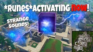 THE CUBE EVENT NOT OVER! RUNE *ACTIVATING NOW! (FORTNITE LIVE STREAM) PS4
