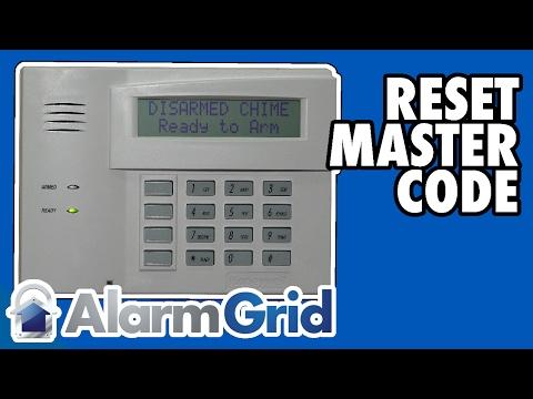 Honeywell VISTA: Reset Master Code