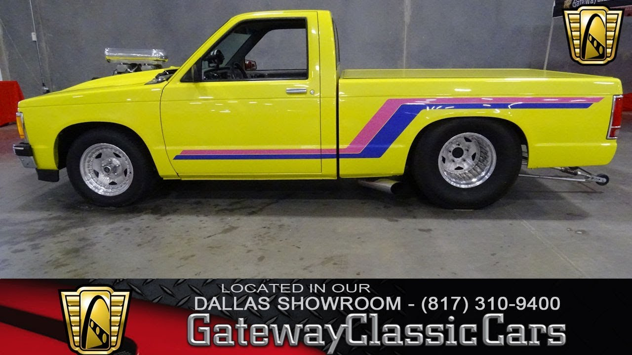 1982 Chevrolet S10 Prostreet 595 Dfw Gateway Classic Cars Of Dallas