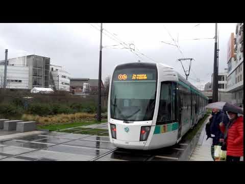 (PARIS) Citadis 402 T3b - Rosa Parks (RATP)