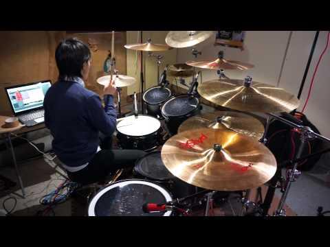 【のんのんびより OP】nano.RIPE/なないろびよりを叩いてみた Drum cover by ふくゆー