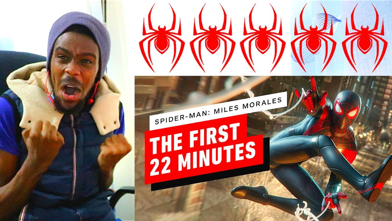 The First 22 Minutes of Spider-Man: Miles Morales on PS5 REACTION VIDEO!!!