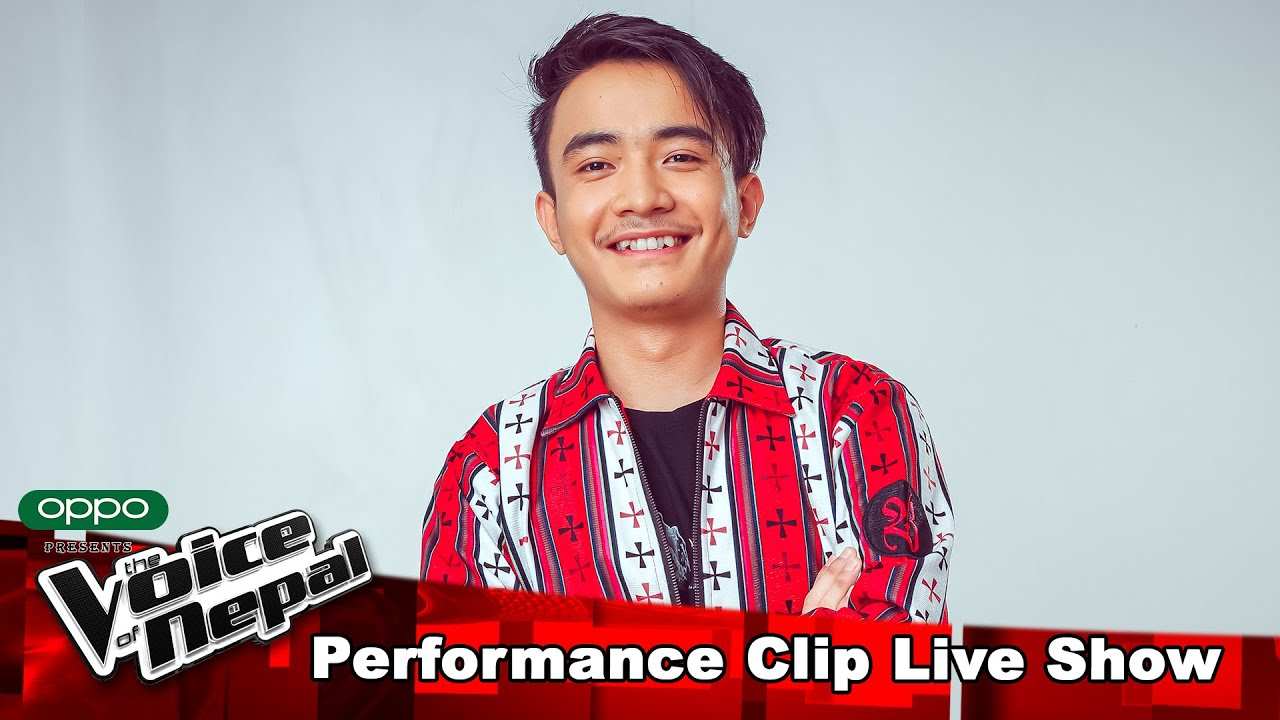 "Aryan Tamang ""Saani""   LIVE Show Performance   The Voice of Nepal S3"