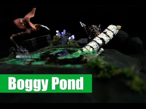 Miniature Props - Boggy Pond Resin Experiment - ep09