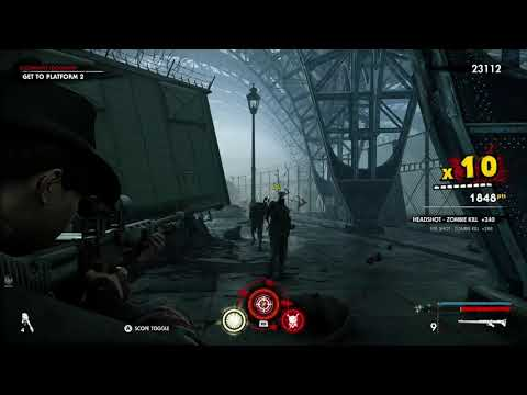 Zombie Army 4 -  Prestige Perk Vampirism & Stamina Defence - Showing them off |
