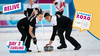 RELIVE - Curling - Spain vs Russia - Round Robin Mixed Team - Day 3 | Lausanne 2020