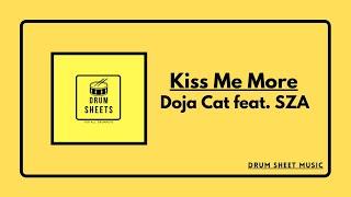 Kiss Me More - Doja Cat feat. SZA / Drum Sheet Music