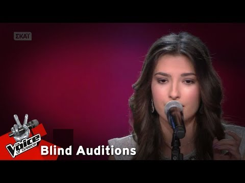 The Voice of Greece | Μαρία Θεοχαροπούλου | 4o Blind Audition