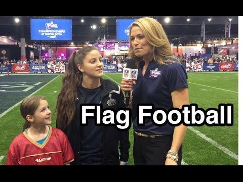 Super Bowl Week | USA Football Flag Championships | Sam Gordon