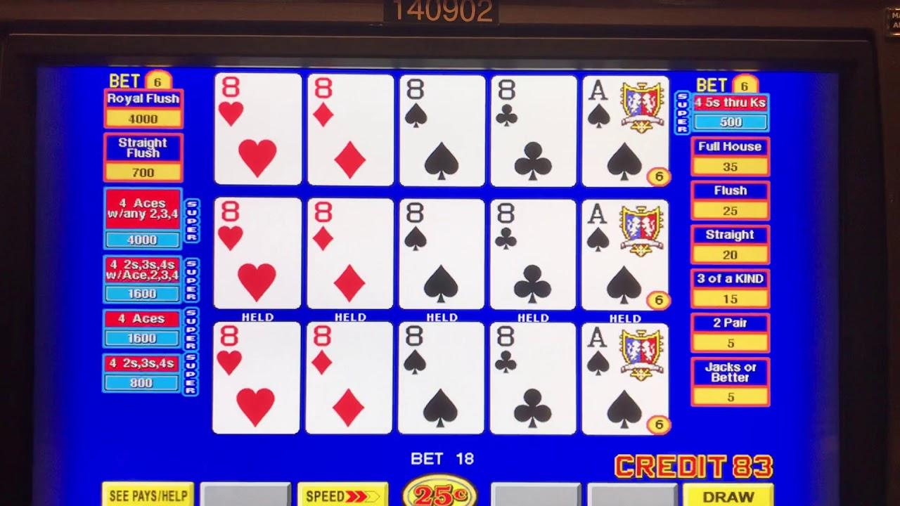 Super Double Double Bonus Video Poker Strategy